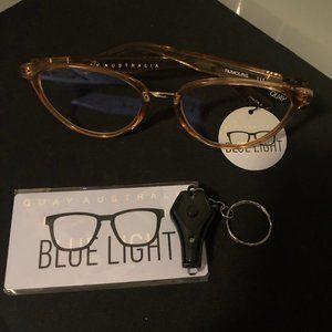 NEW - Quay Australia Rumours Bluelight Glasses